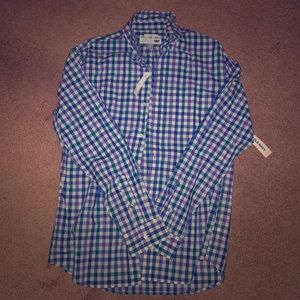 NWT soft wash button down